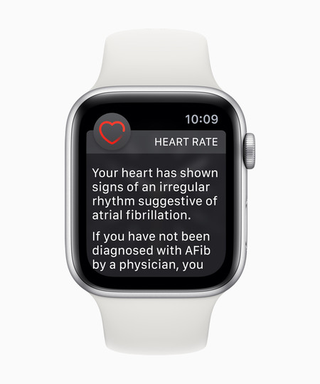 Apple Watch Series 4 Heart Rate Notifications