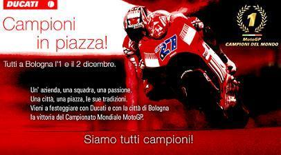 Ducati ha preparado una gran fiesta para éste fin de semana