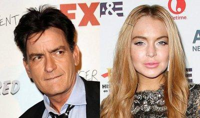 Charlie Sheen y Lindsay Lohan, estrellas de 'Scary Movie 5'