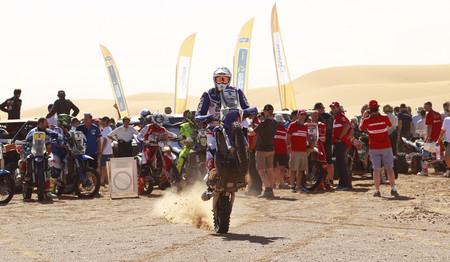 Xavier de Soultrait y Yamaha derrotan a Gerard Farrés para llevarse la victoria en el Merzouga Rally