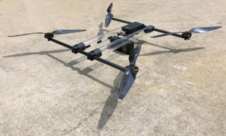 Hycopter es el drone que puede volar durante 4 horas gracias a su pila de combustible de hidrógeno