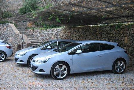 Opel Astra GTC, presentación y prueba en Mallorca (parte 2)