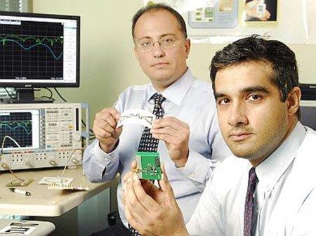 Logran imprimir antenas que recogen energía de las redes WiFi