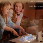 Lazertouch convierte cualquier superficie de la casa en una pantalla táctil