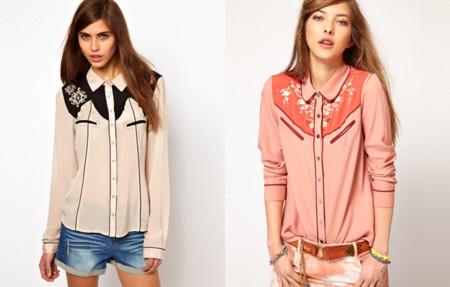Clones Asos camisa western Isabel Marant