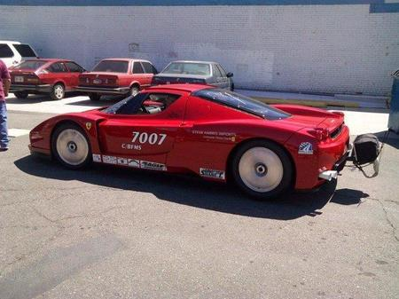 Ferrari Enzo Twin Turbo para correr en Bonneville