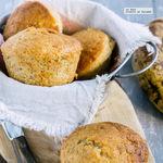 Muffins de plátano. Receta fácil