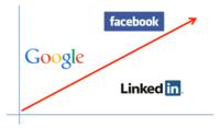 La salida a bolsa de tres grandes empresas tecnológicas: Google, LinkedIn y Facebook