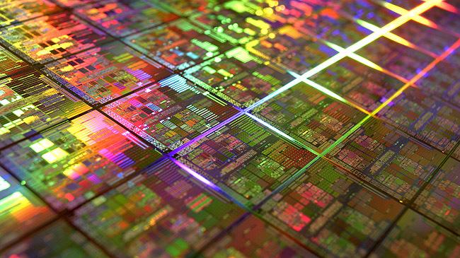 Oblea de procesadores Intel