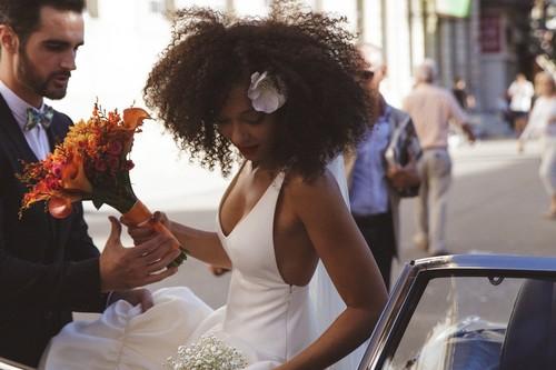Las siete ideas de peinados de boda para cabello afro con las que vas a querer presumir de rizos sí o sí