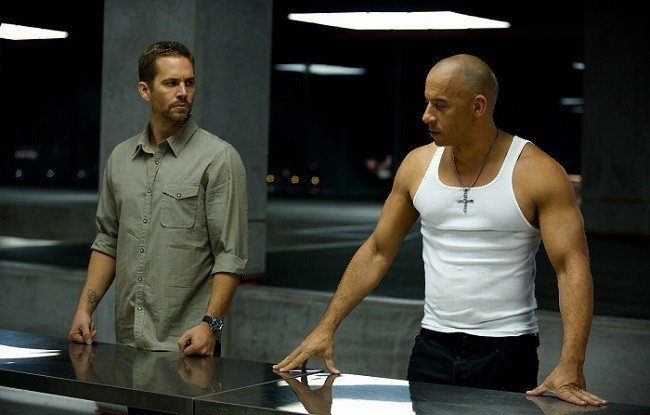 Paul Walker y Vin Diesel en 'Fast & Furious 6'