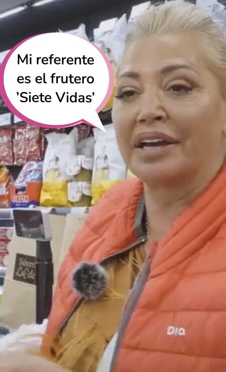 La cajera del 'Dia' (y del pueblo): Belén Esteban se hace viral con este vídeo promocionando sus cremas y patatas de 'Los sabores de la Esteban'