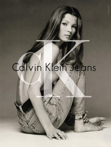 Calvin Klein y Kate Moss, una alianza que cambió la historia de la moda en los 90