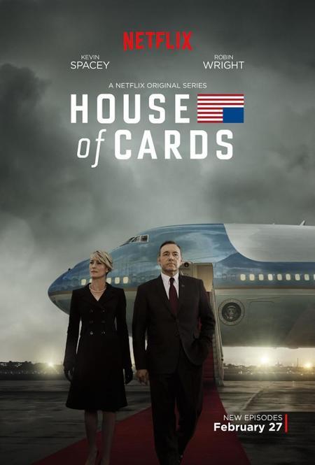 La tercera temporada completa de House of Cards ya está disponible en Netflix