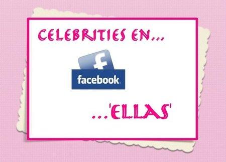 Los famosos más deseados en facebook... Ellas (II)