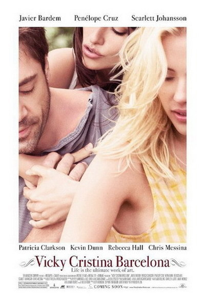 'Vicky Cristina Barcelona', póster