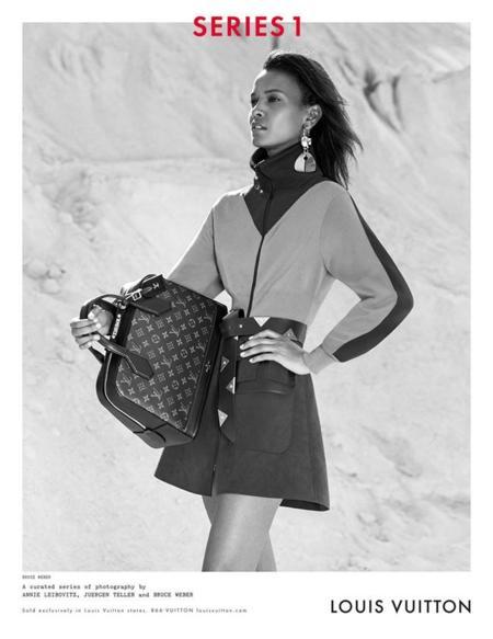 Liya Kebede louis vuitton invierno 2014