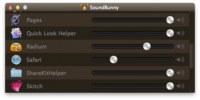 Sound Bunny, controla el volumen de cada aplicación de forma individual. Desde iTunes hasta las notificaciones de Mail