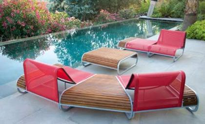 Muebles de terraza de Ego Paris