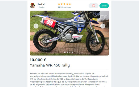 Javi Vega Yamaha Wallapop