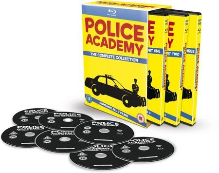 Pack Loca Academia de Policía, en Blu-ray, por 17,99 euros