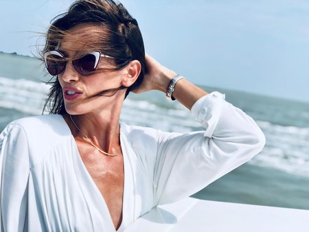 Nieves Álvarez desembarca en el Festival de Venecia 2019 derrochando estilo
