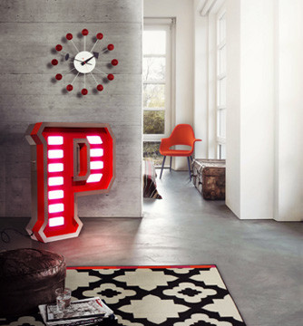 Letter Neon Graphic Lamp P