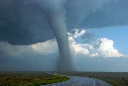 El Corredor de los Tornados en Estados Unidos