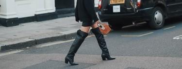 Las nueve botas altas y negras de Mango que vestirán todos nuestros looks sin importar las tendencias