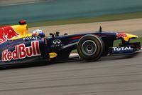 Sebastian Vettel hasta en la sopa