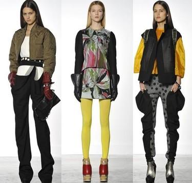 Más piel, más capas, color y sport chic en otoño 2010: Balenciaga, Celine y Proenza Schouler