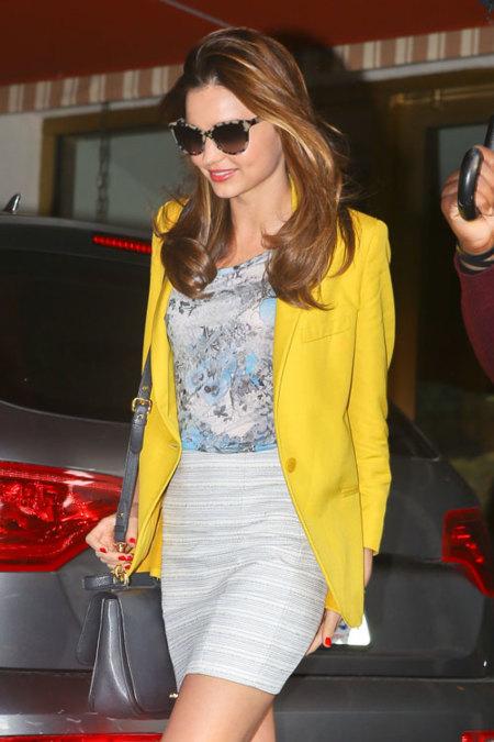 El look de Miranda Kerr para ir al supermercado: ¡superior!