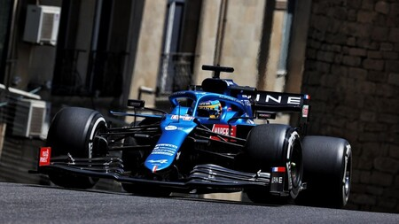 Alonso Azerbaiyan F1 2021