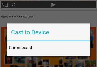 La última nightly de Firefox para Android añade soporte para Chromecast