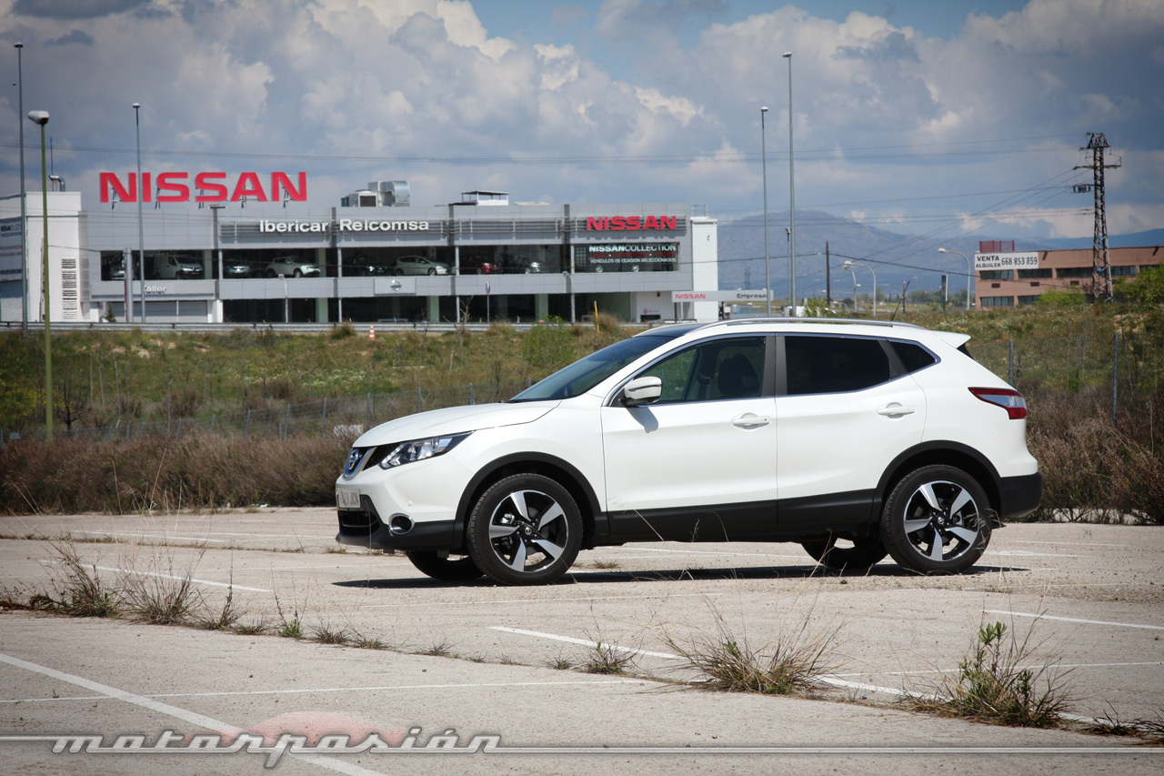 Foto de Nissan Qashqai 1.6 DIG-T 163 CV (prueba) (13/19)