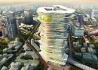 El cielo es el límite y esta ciudad futurista apunta a ello
