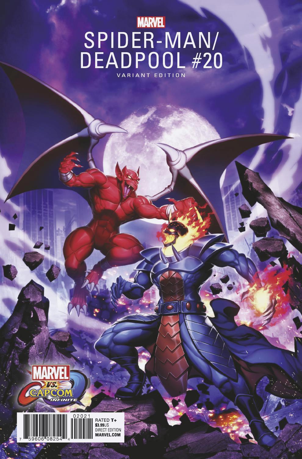 Marvel vs. Capcom portadas especiales julio y Agosto