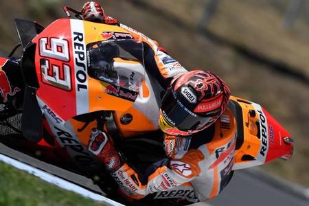 Marc Márquez ha sido el más rápido del test de MotoGP en Brno con la ausencia de Maverick Viñales
