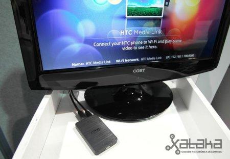 HTC Media Link – Prueba en CES 2011