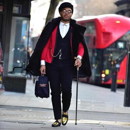 Los Hombres Mas Elegantes De Londres Le Hacen Frente Al Frio Con La Armadura Perfecta El Abrigo 07