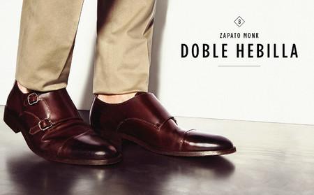 zapato monkstrap hebilla