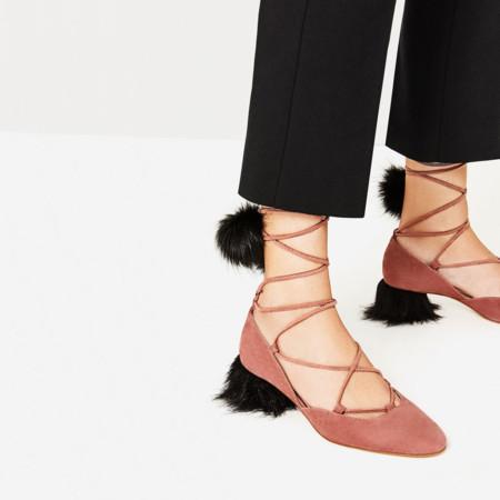 Zapatos Peludos Zara 1