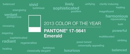 pantone esmeralda 2