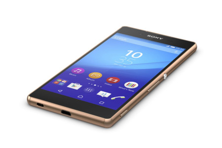 Xperia Z3 Copper Front Down 1