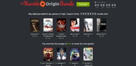 The Humble Origin Bundle alcanza un nuevo récord de recaudación