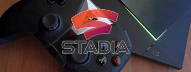 Así puedes jugar ya a Google Stadia en la Nvidia Shield con Android TV