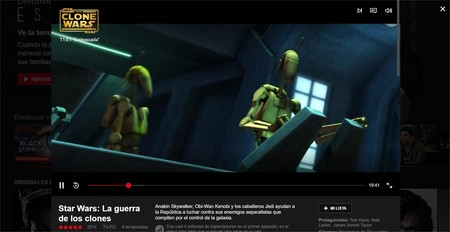 Netflix Nueva Interfaz 2
