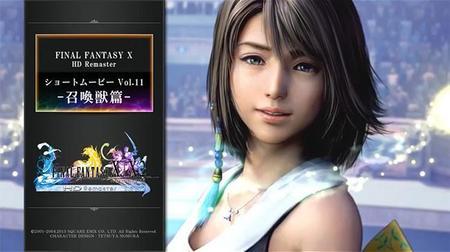 Nuevos vídeos de Final Fantasy X | X-2 HD Remaster