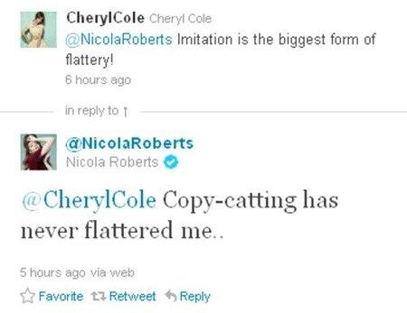Tweets Nicola Roberts