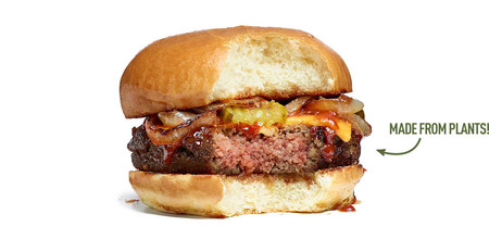 Hamburguesa sin carne